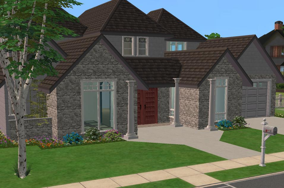Mod the sims 3 4 bedroom house 35 989 for 3 or 4 bedroom house