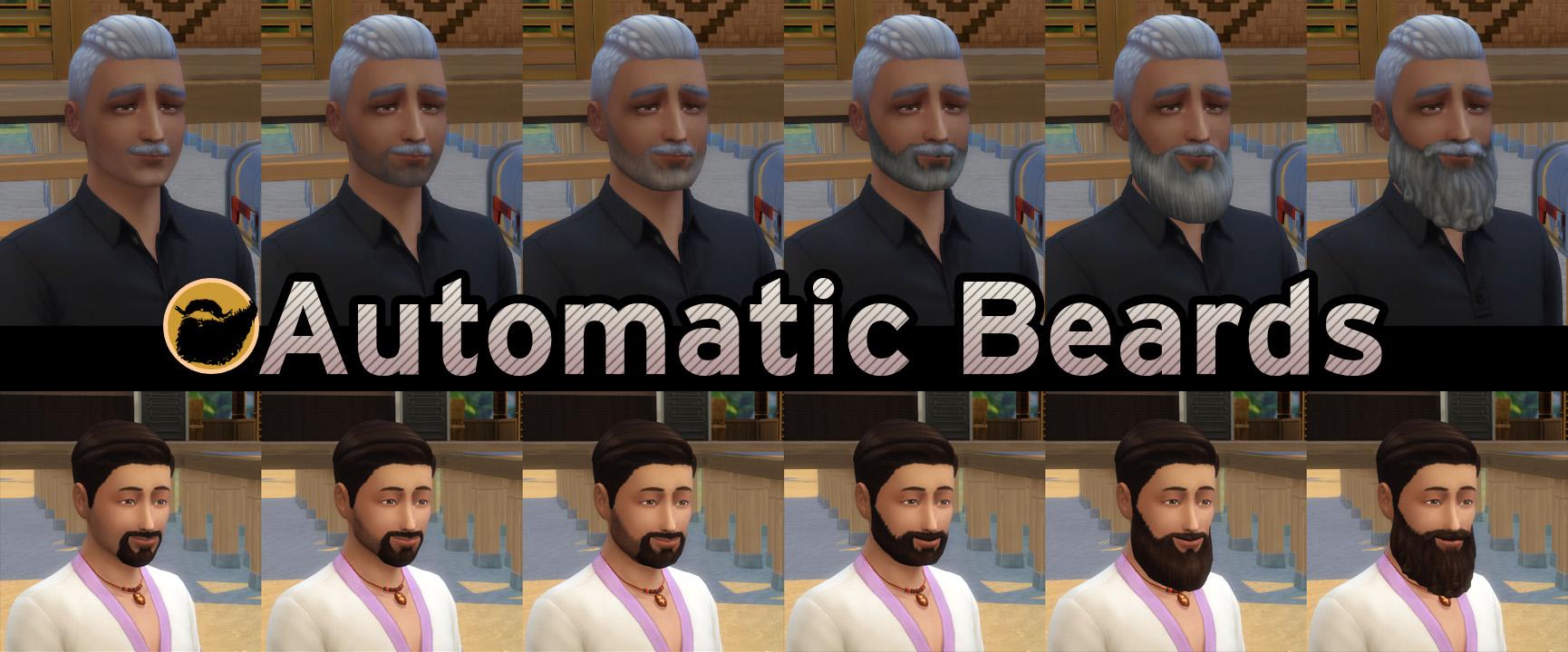 Мод Автоматические Бороды