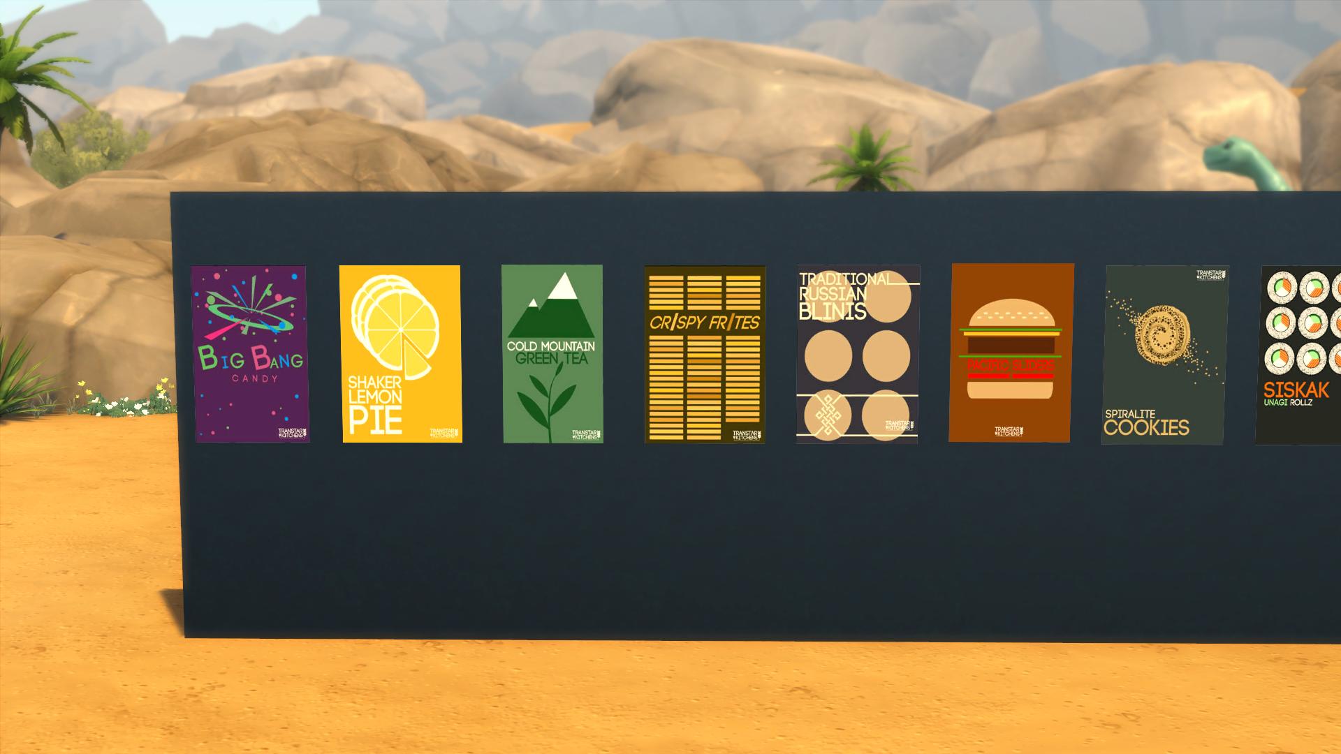 Пищевые Плакаты