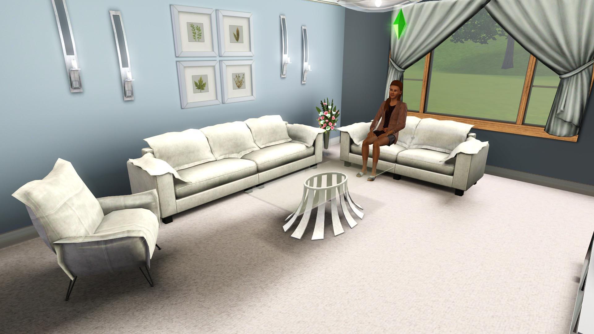 Mod The Sims - Nebula Loveseat