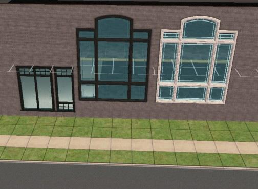 Mod the sims testers wanted b w atrium windows black for Where to buy atrium windows