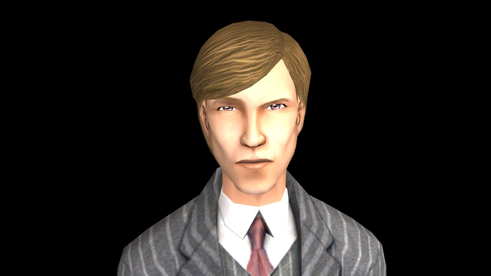 ModTheSims - Hannibal Lecter (Mads Mikkselen Edition)