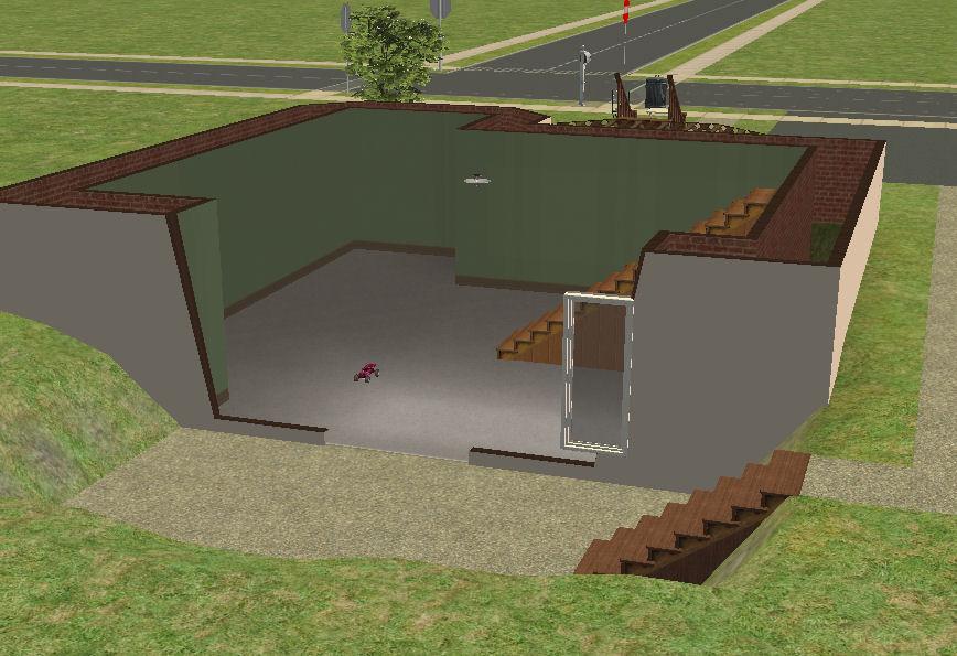 Walkout Basement Large Rooms 19 716, How To Make A Walkout Basement Sims 3