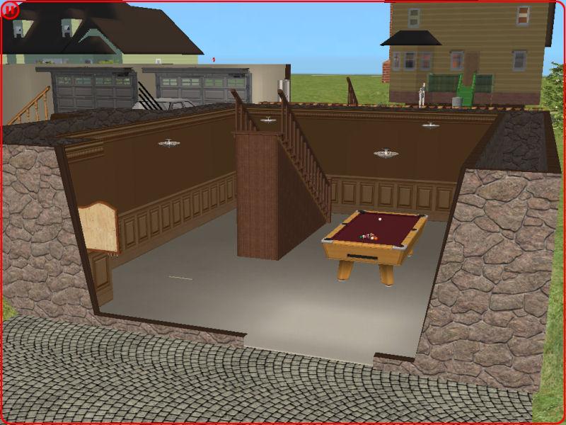 Split Level With Walkout Basement 107k, How To Make A Walkout Basement Sims 3