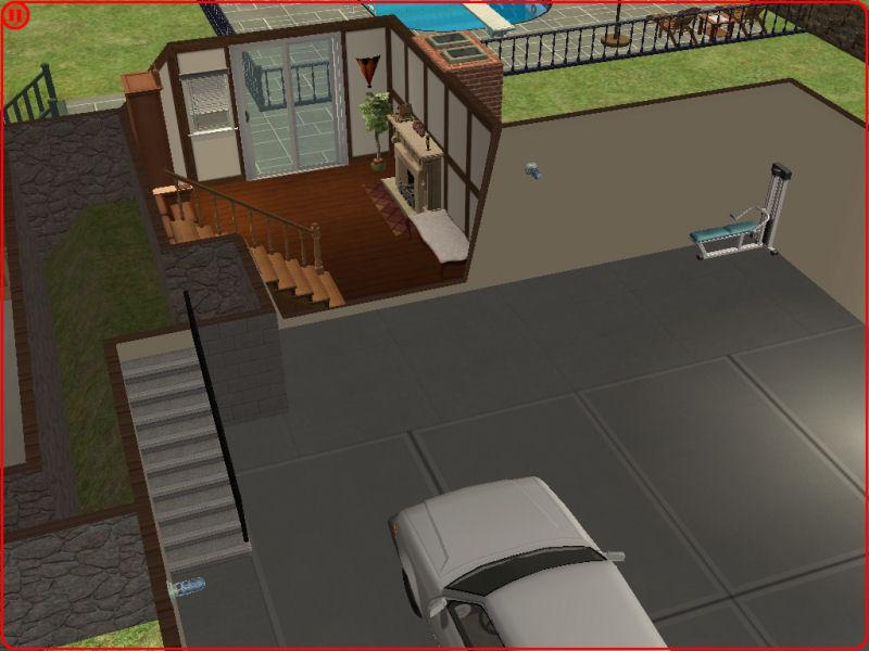 Split Level With Walkout Basement 107k, How To Build A Walkout Basement Sims 4