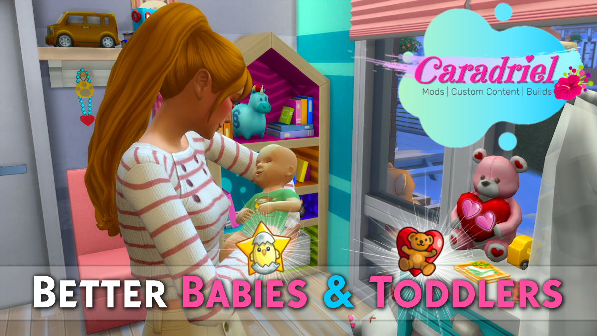 Mod The Sims Better Babies Toddlers