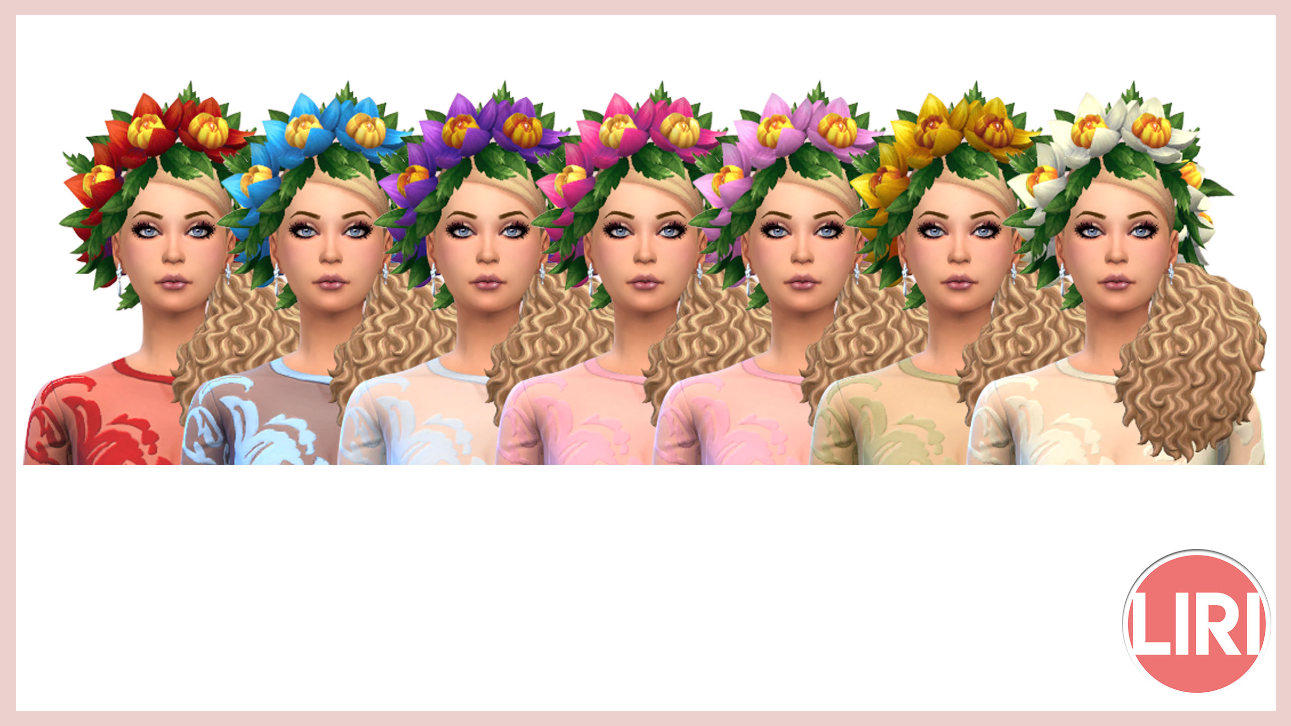 Mod The Sims Flower Crown