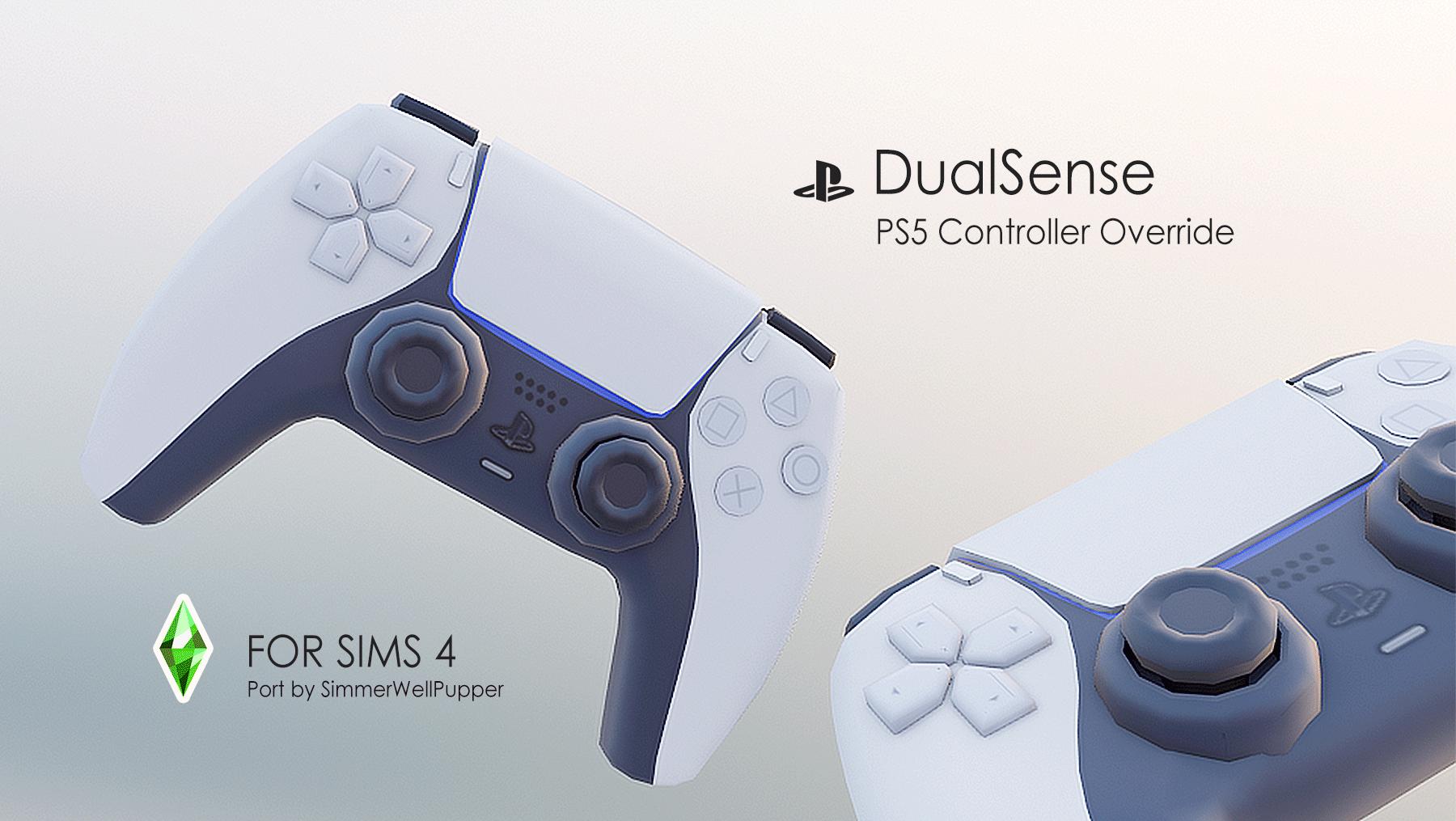 Mod The Sims PS5 DualSense Controller Override (Functional)