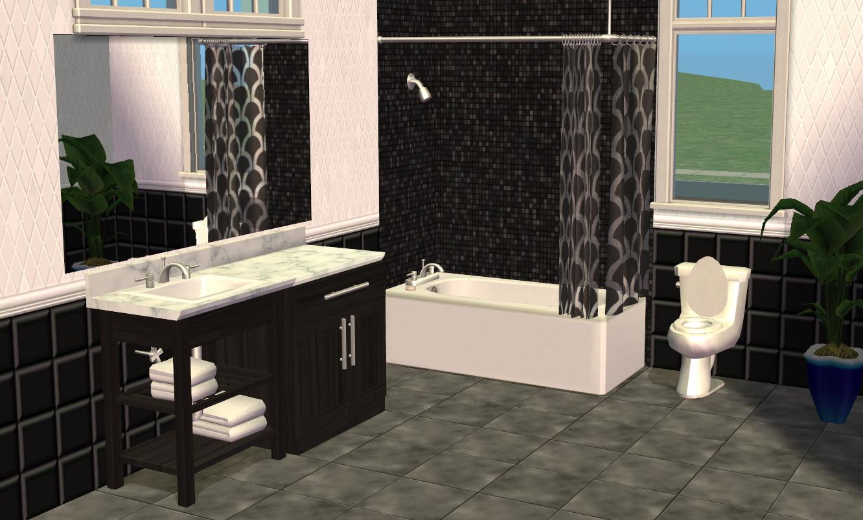Mod The Sims - Smallhouse Models Bathroom Set
