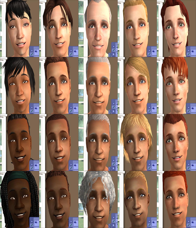 Mod The Sims Correlated Skins 5 Year Creator Anniversary