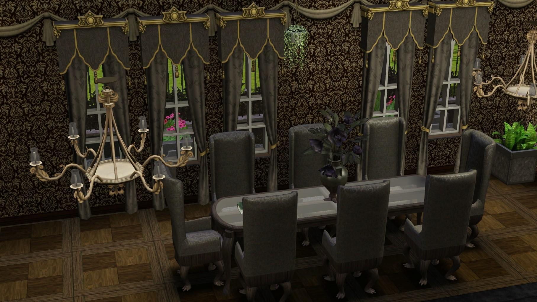 ModTheSims - Gothic Mansion