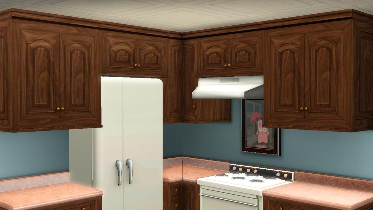 sims 2 kitchen cabinets wooden how to make a corner cabinet in sims 3 pdf plans 26141