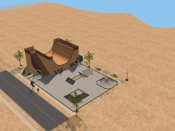 Mod The Sims Community Skate Park