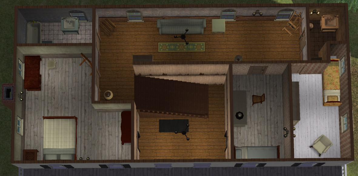 Mod The Sims Bill S House From True Blood