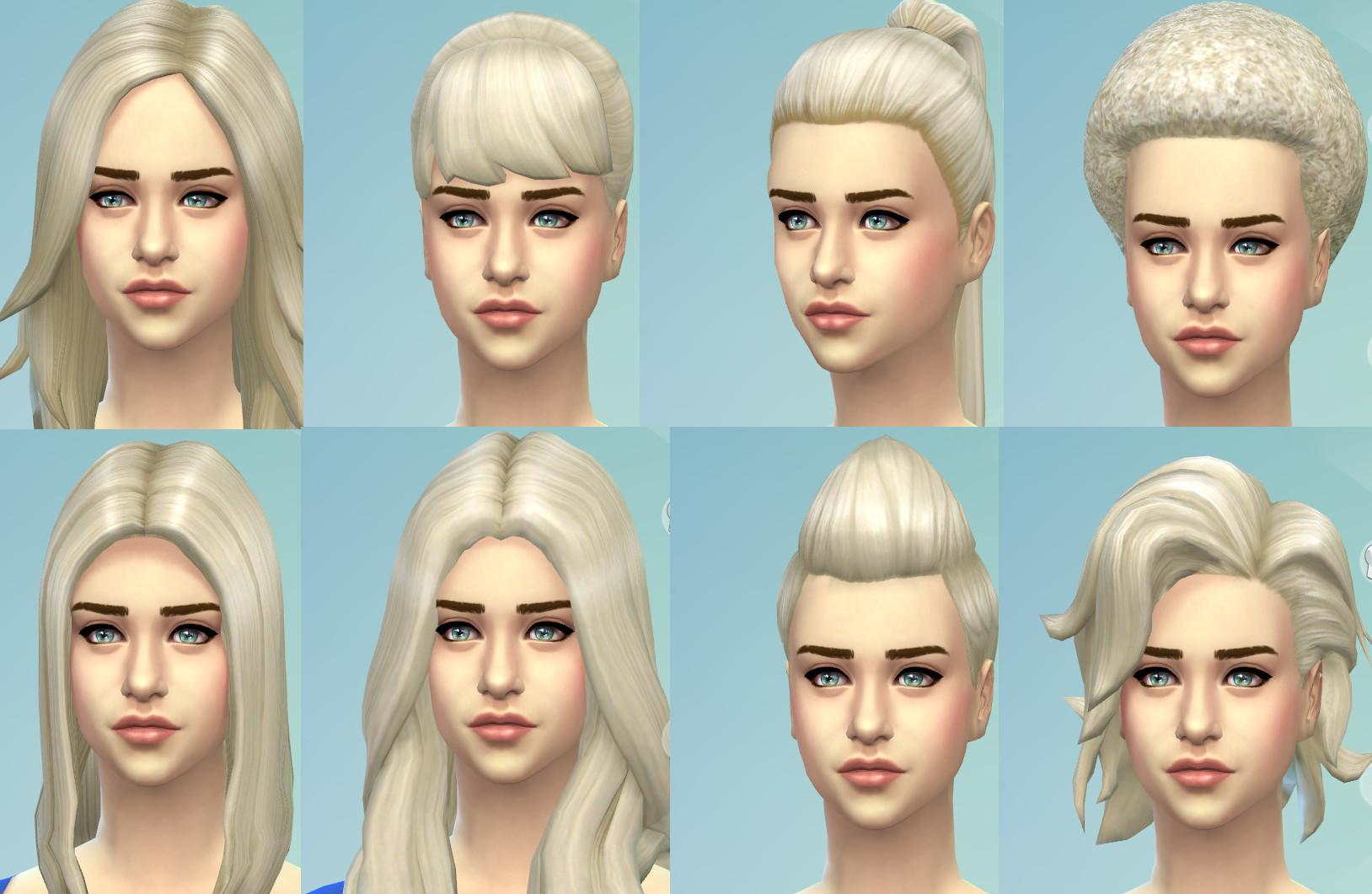 Mod The Sims - 'Targaryen Blonde' - New Non-Default Colour ...