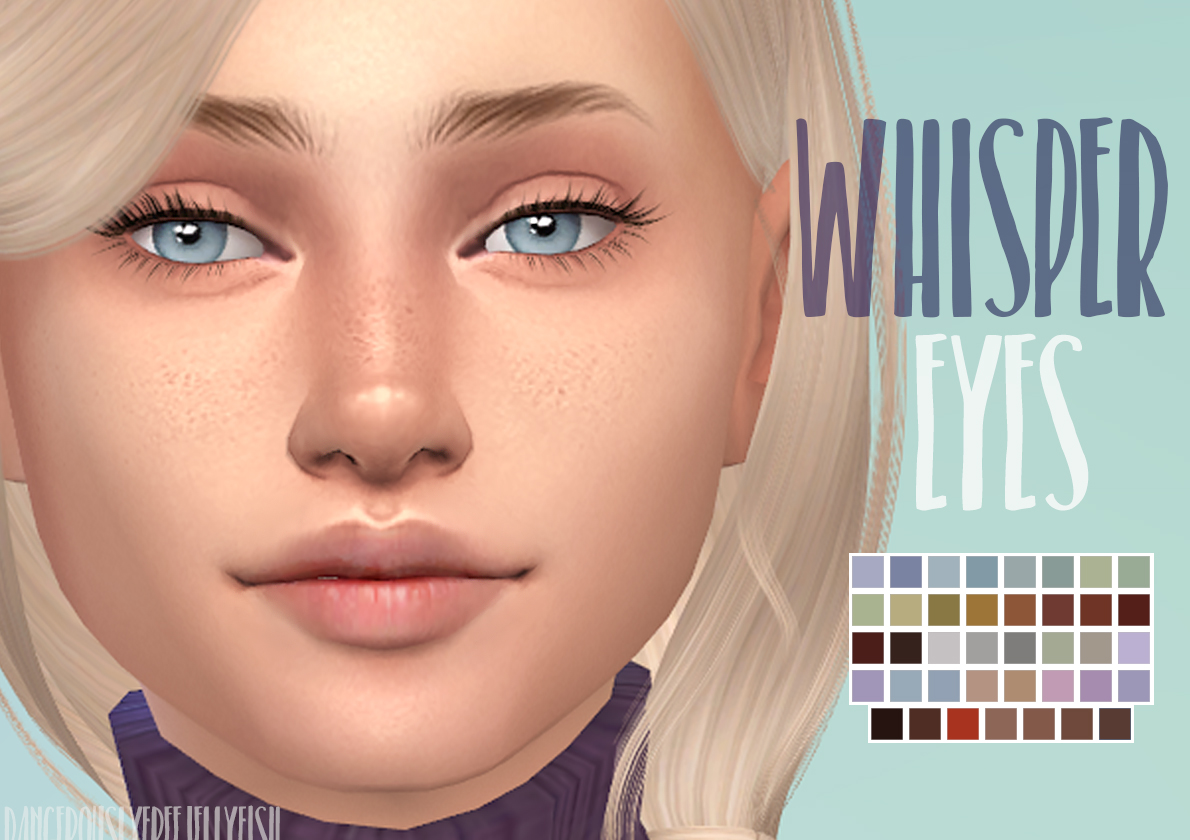 ModTheSims - Whisper Eyes