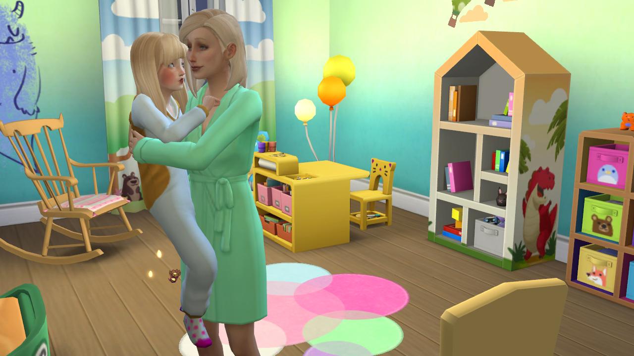 Mod sims 4 child love Sims 4