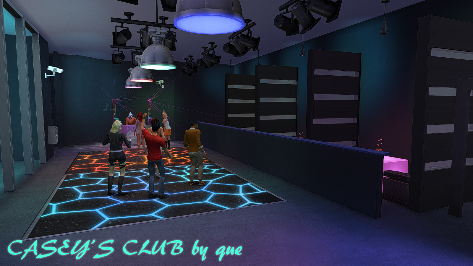симс 4 ночной клуб мод