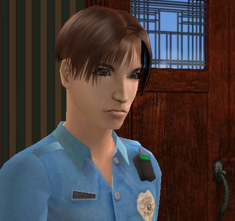 Mod The Sims Leon S Kennedy Resident Evil 2 4