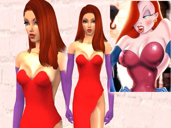 Japonesa real sims with big boobs