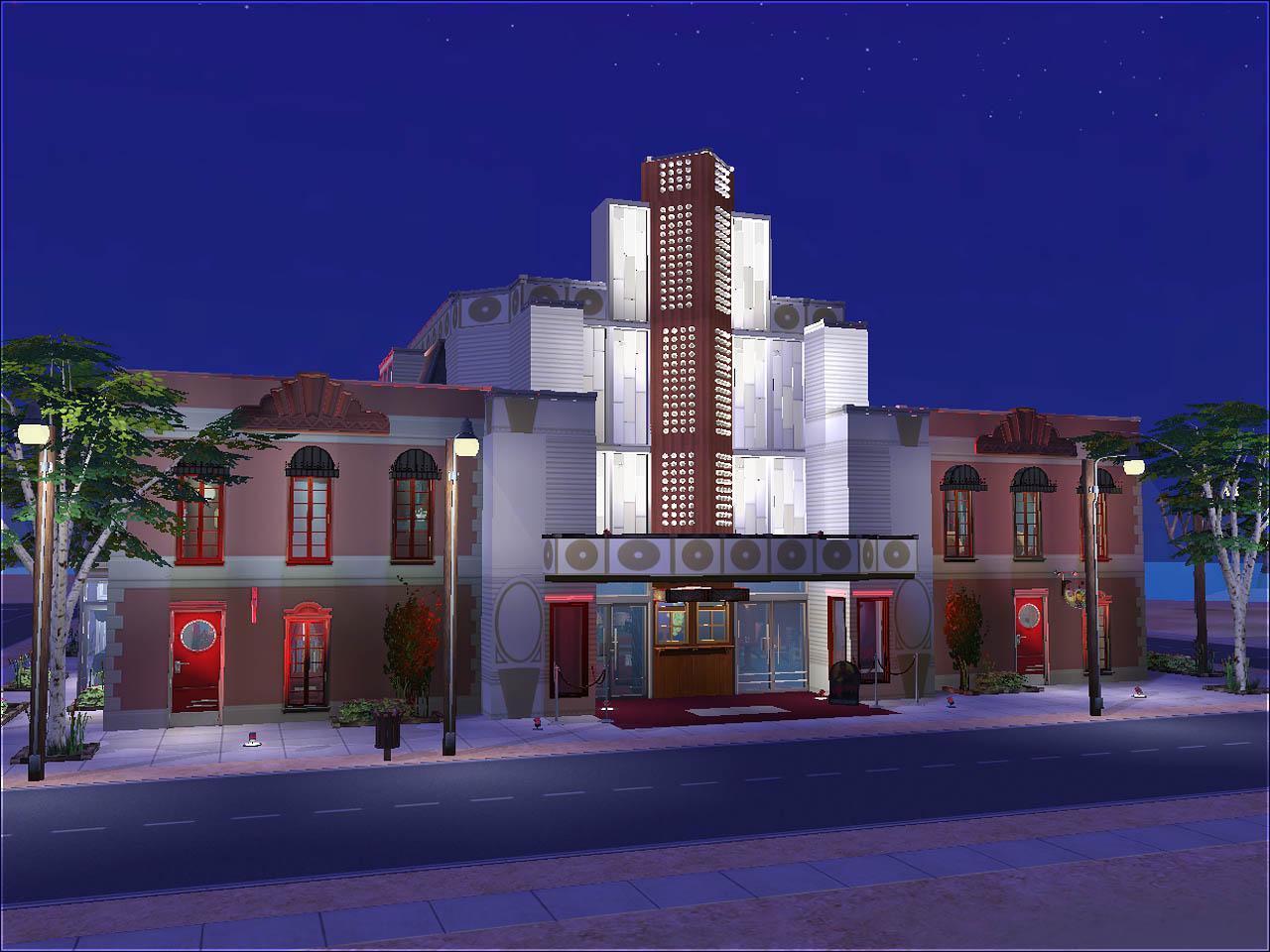 Mod The Sims Simiety Vintage Theater Minimal Cc