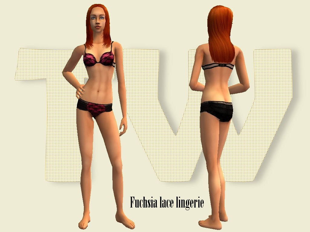 Sims 4 dessous