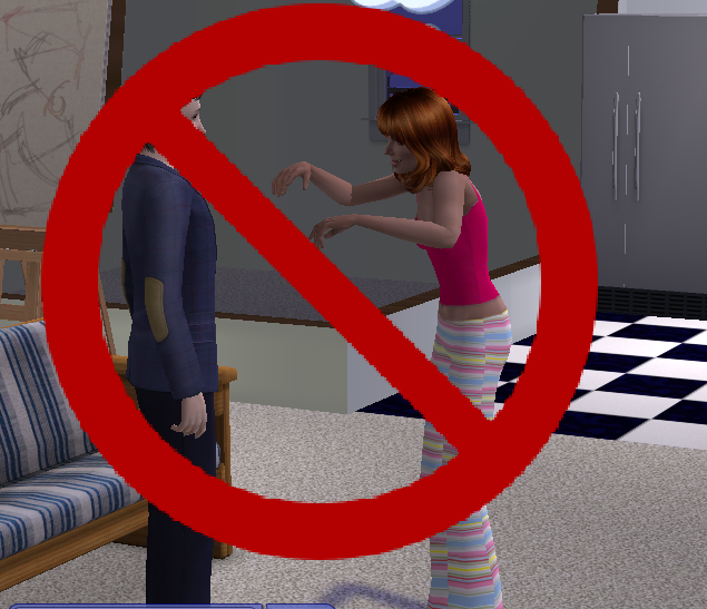ModTheSims - Stop inviting yourself in!