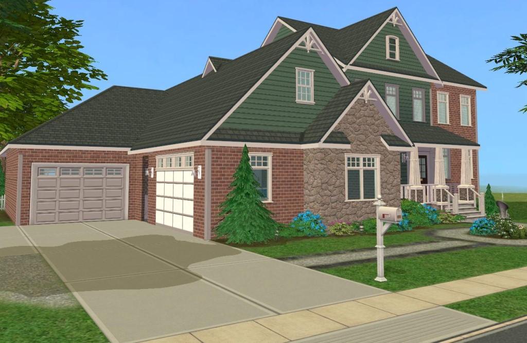attic bonus room ideas - Mod The Sims 4 Bedroom Craftsman Style Family Home