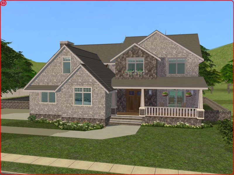 garage hobby ideas - Mod The Sims 3 Bedroom Craftsman Style Home