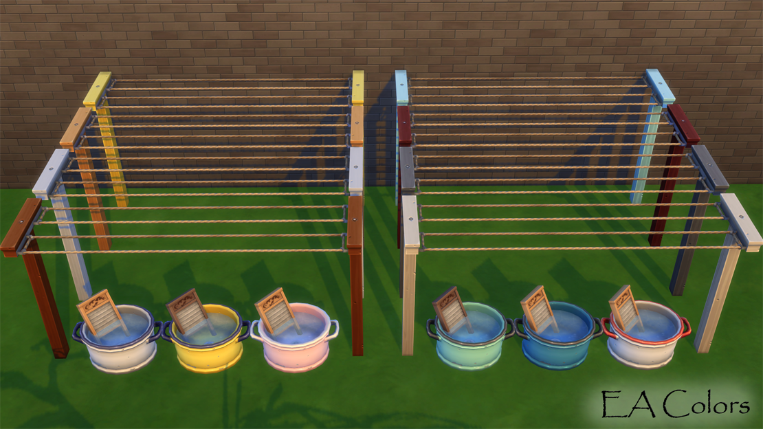 Mod The Sims Laundry Day Appliances As Decor