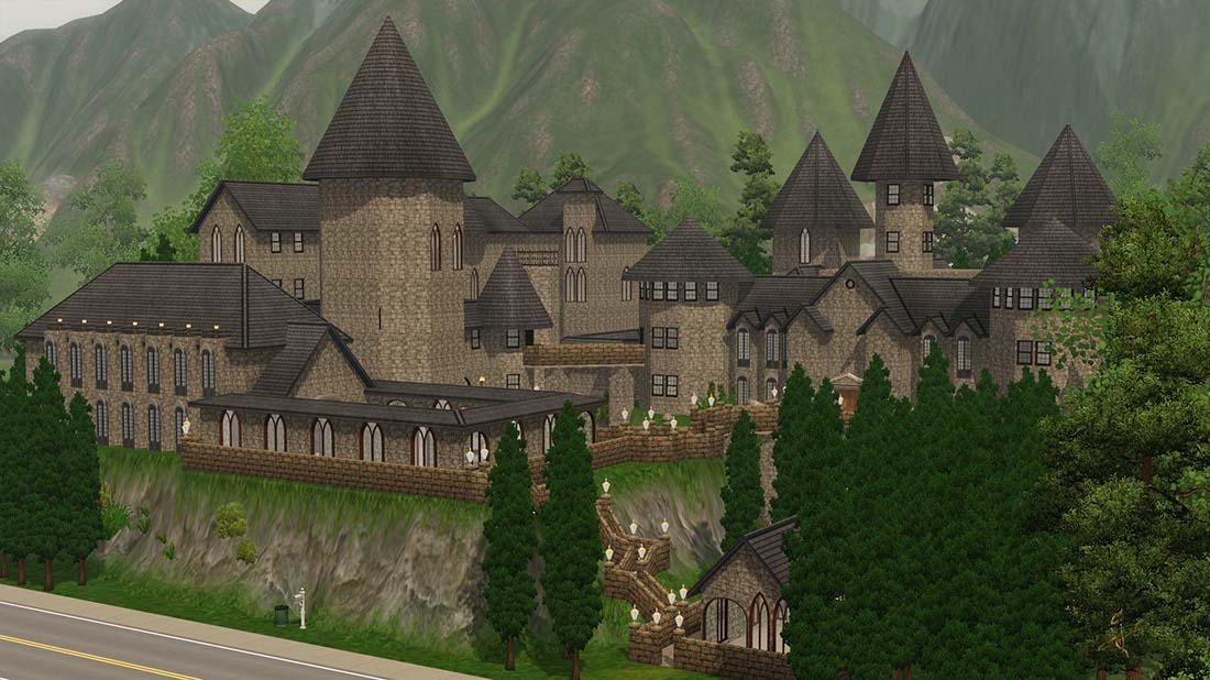 Mod The Sims Hogwarts School of Witchcraft