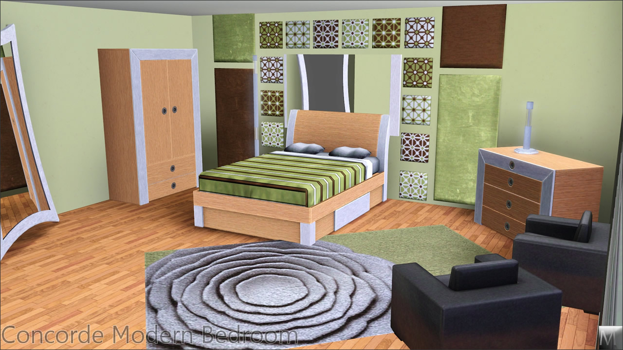 Mod The Sims - Concorde Modern Bedroom