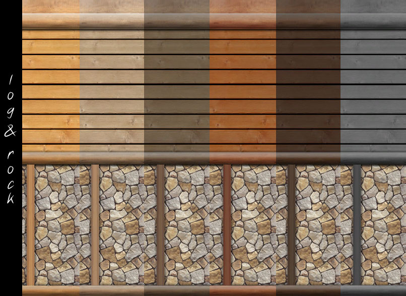 Interior log cabin stain colors for Log cabin exterior stain colors