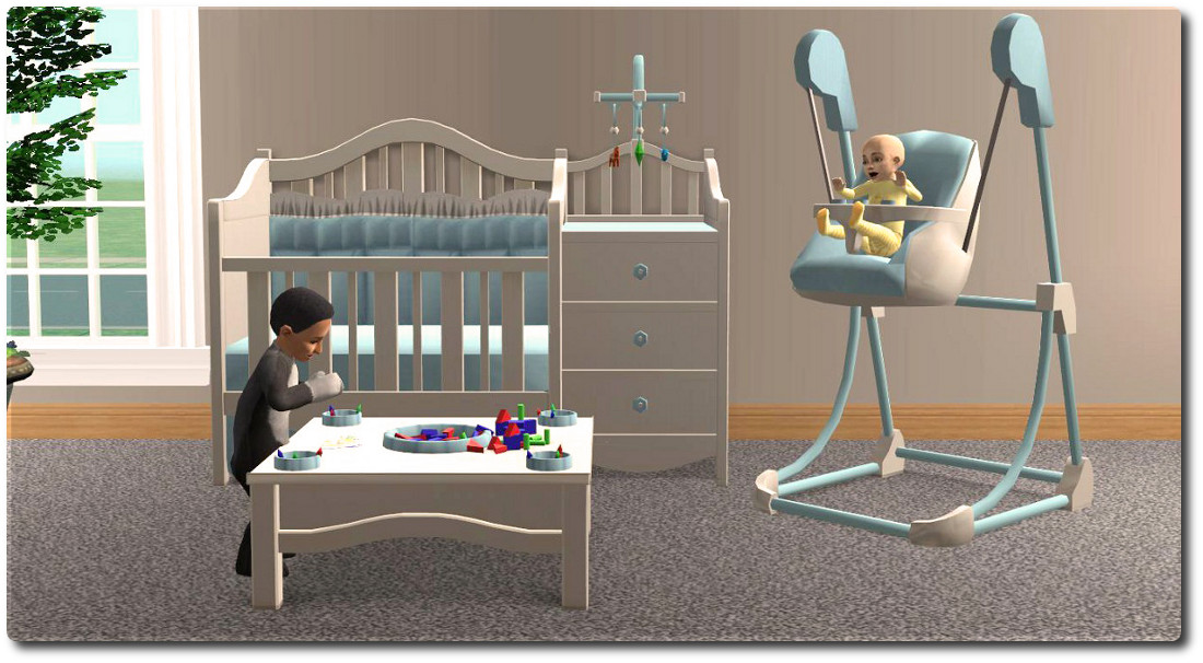 Mod The Sims - Nursery Add-Ons: Spruce Up Your BG And FT Nurseries.