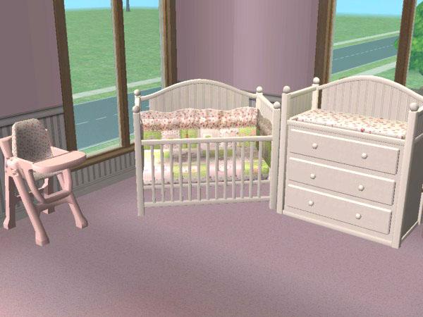 Mod The Sims - Blooming Marvellous Nursery Set