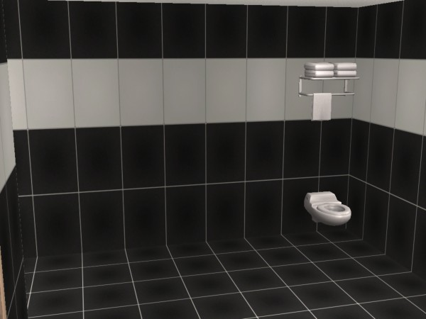 black bathroom tiles mod the sims bathroom tiles in ikea lack colors 12101