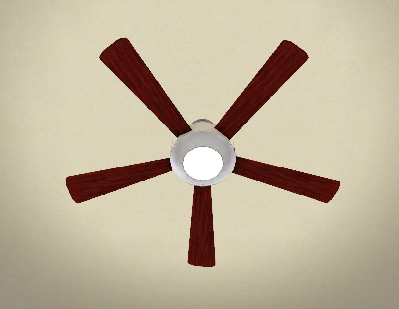Mod The Sims Animated Modern Ceiling Fan