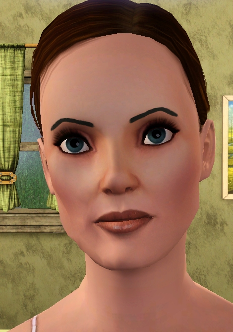 Mod The Sims - Arched Eyebrows For The Ladies - Thick and Thin