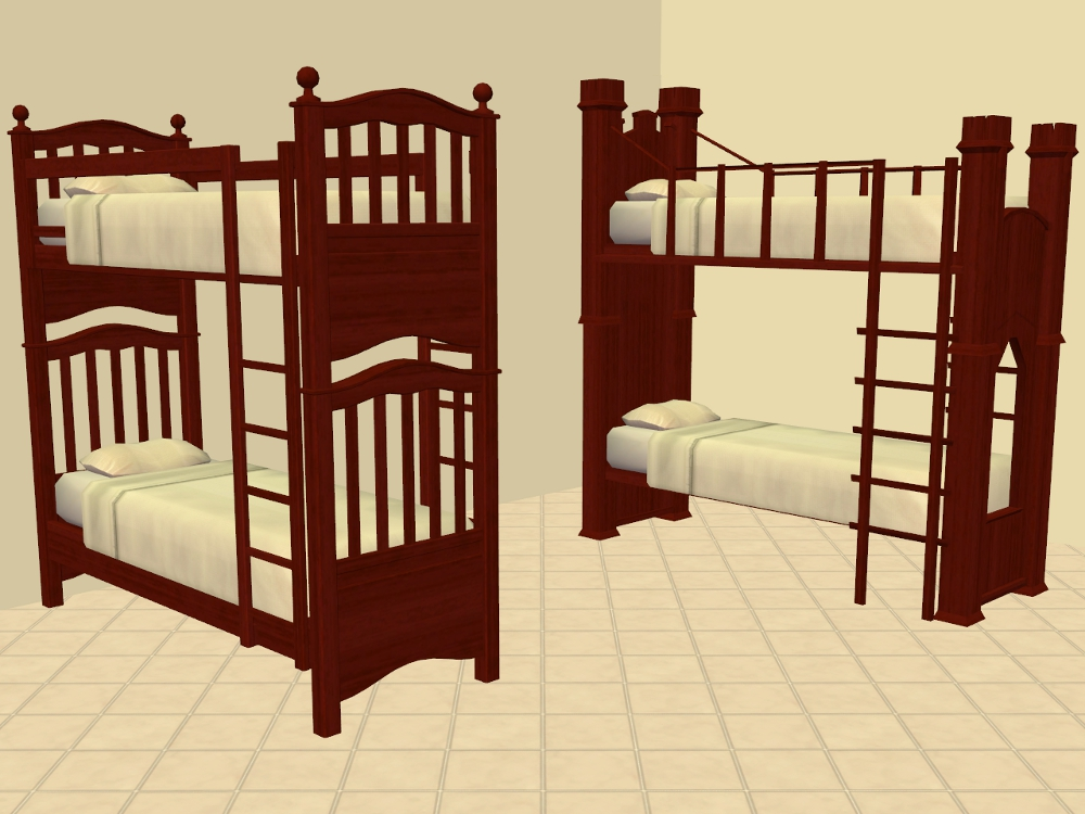 where to buy beds mod the sims shaundak s ts3 ts2 converted bunk beds 17801