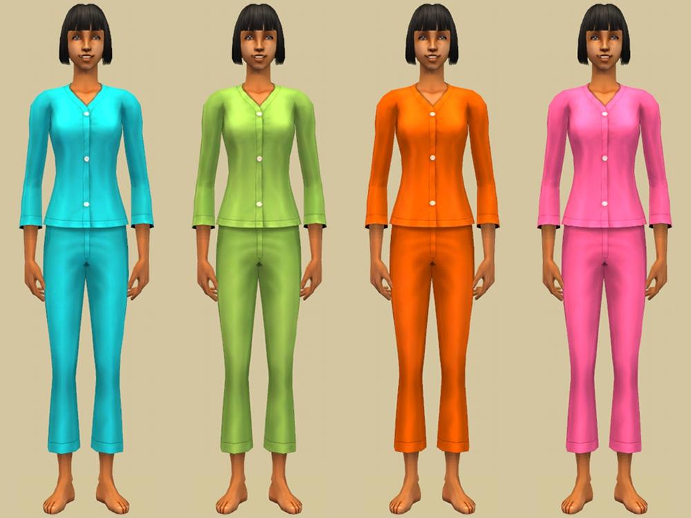 Mod The Sims - Pajama party