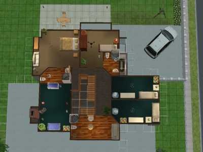 Mod The Sims Desperate Housewives Scavo House Wisteria Lane Fully Furnished