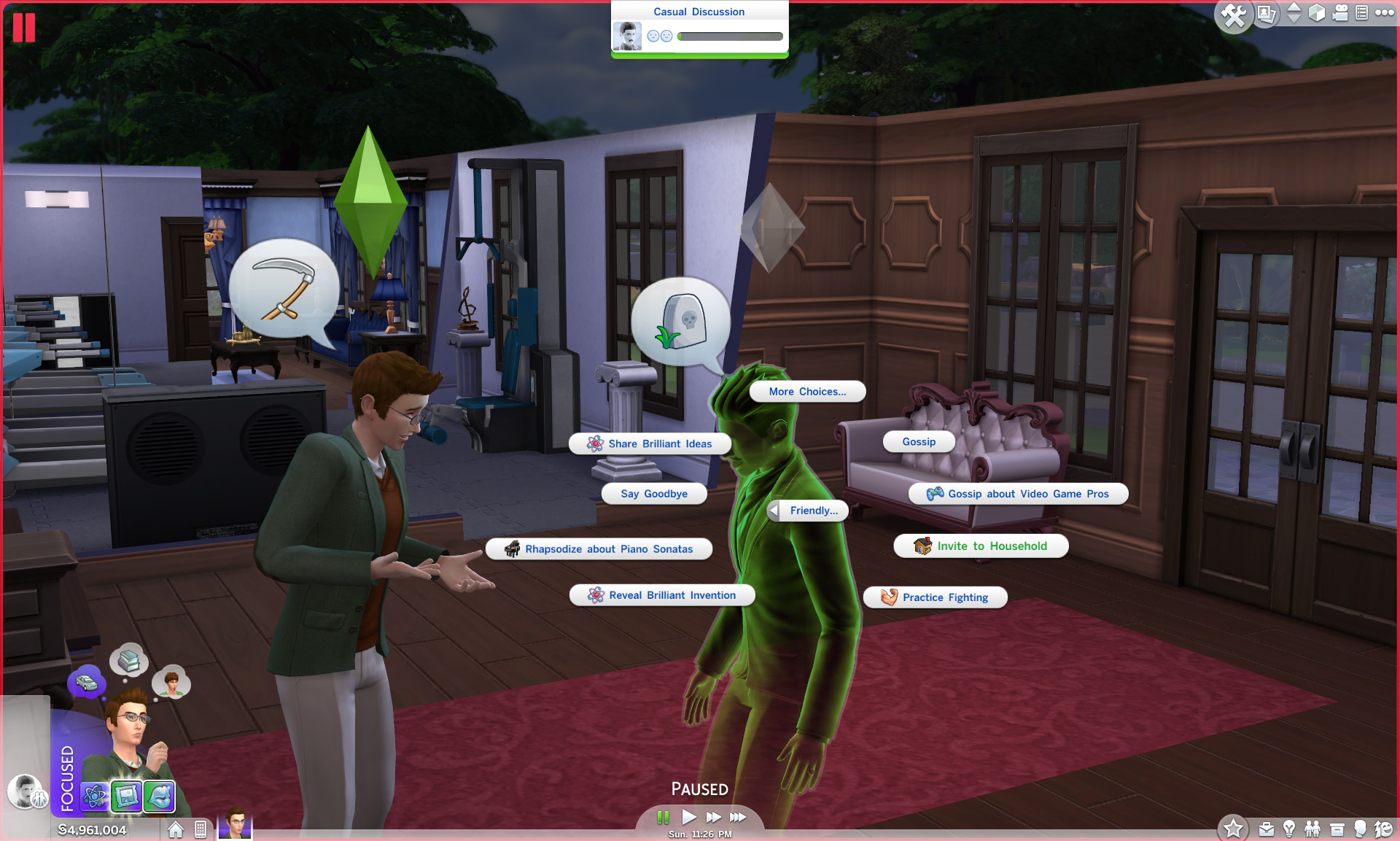 Mod The Sims - Easy Invite Ghost to Household