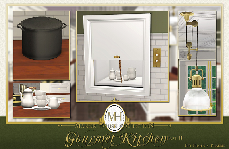 sims 3 kitchen ideas mod the sims manor house collection gourmet kitchen pt ii 21712