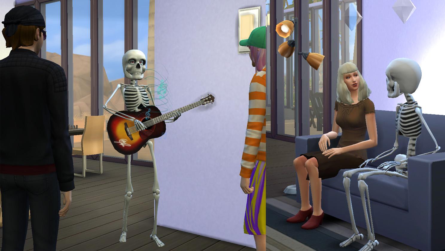 Скинтон и модель скелета!