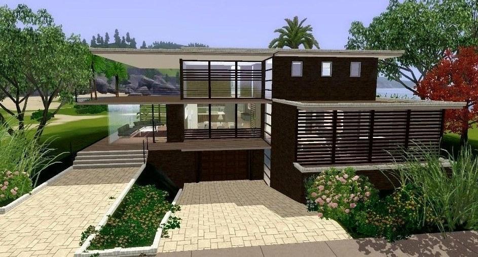 sims 3 maison moderne � ventana blog