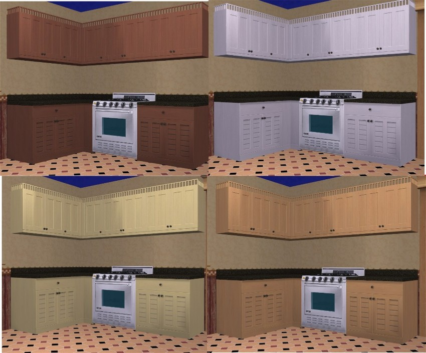 sims 2 kitchen cabinets mod the sims 4 new meshes cabinets missed color 26141