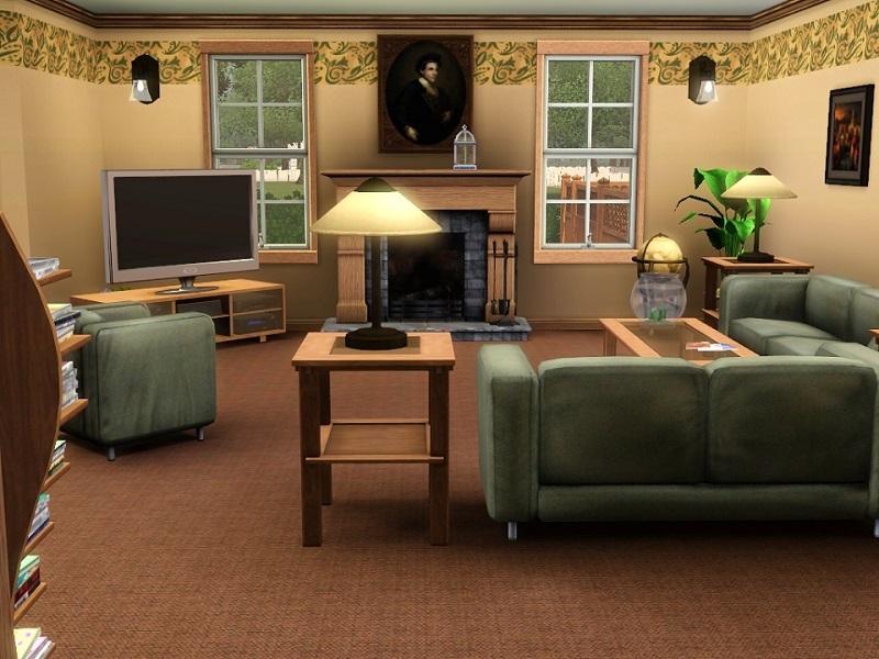 Sims  Blog Scandinavian Living Room