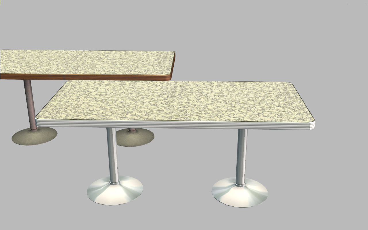 Mod The Sims Diner Tables Chair Cep Extra