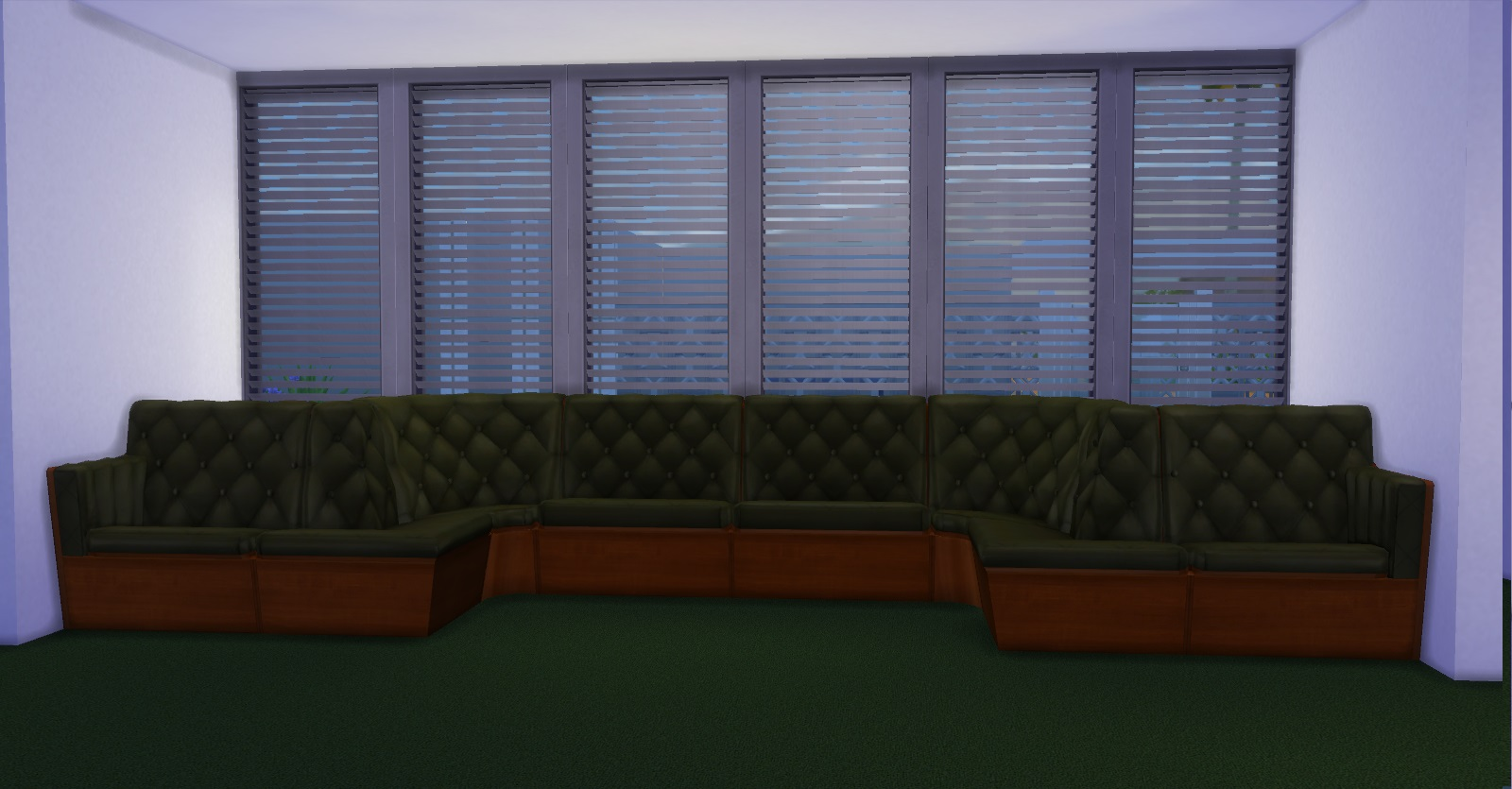 Plumper Thumper Sectional Sofa From Sims 2
