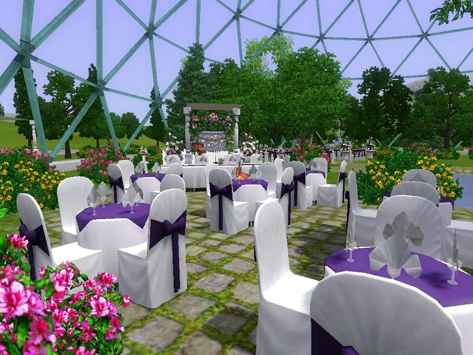 Mod The Sims - The Butterfly House Wedding Venue
